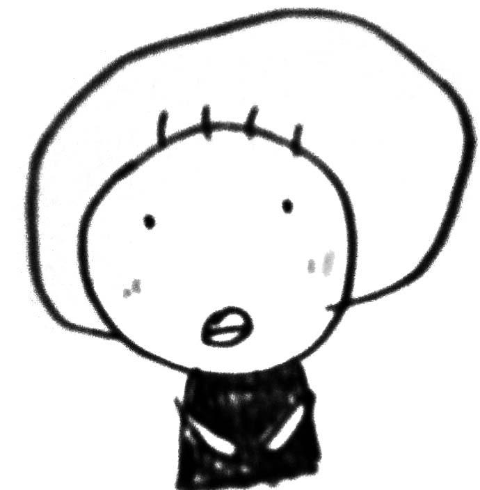 mayumiさん自画像イラスト
